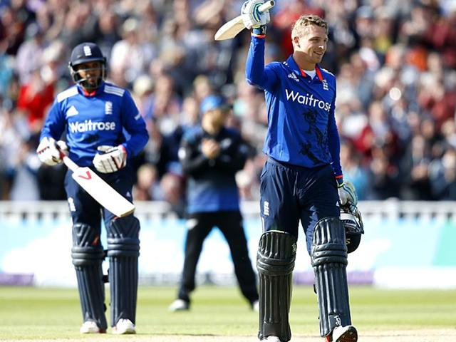 Buttler, Root tons help England rout New Zealand in first ODI