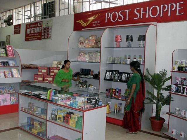 Recently-opened-Post-Shoppe-in-post-office-near-Bharat-Nagar-Chowk-in-Ludhiana-JS-Grewal-HT