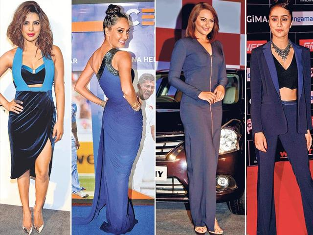 Navy-blue-From-gowns-and-maxis-to-saris-and-separates-this-bold-colour-seems-to-have-taken-over-shy-celebrity-wardrobes