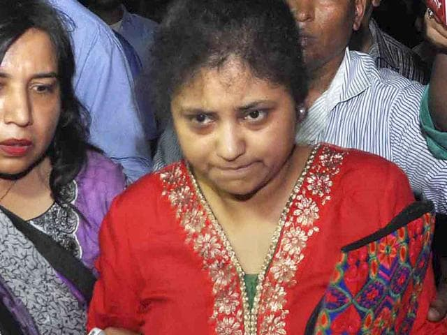 Somnath-Bharti-s-wife-Lipika-Mitra-filed-a-complaint-of-domestic-violence-and-mental-torture-against-him-HT-Photo