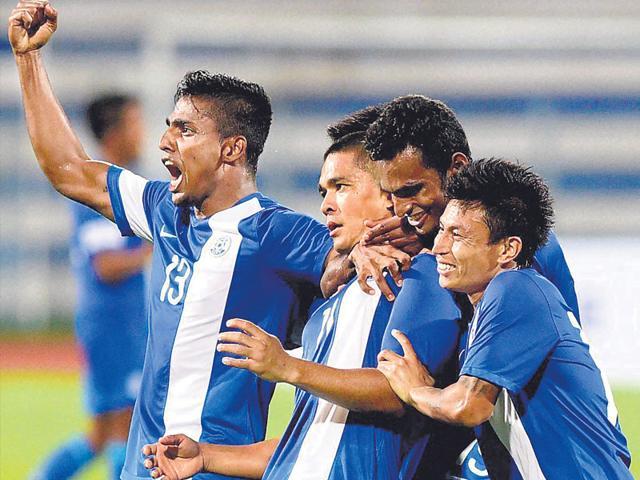 India vs Oman,2018 Fifa World Cup qualifier,Sunil Chhetri