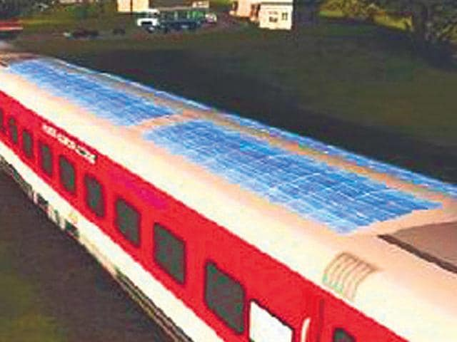 Solar train,Solar Impulse Project,Indian Railways