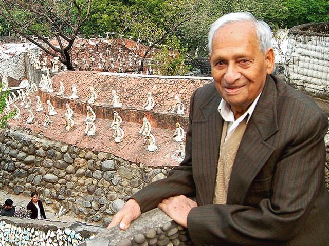 Nek Chand,Rock Garden,Pawan Kumar Bansal