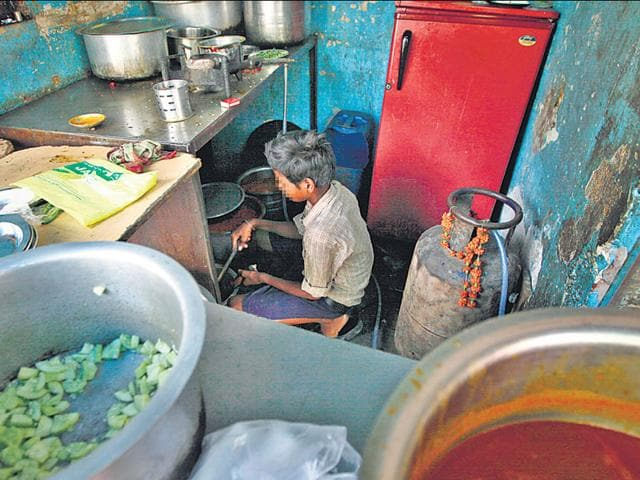Child labourers working in eatery for six months rescued by cops