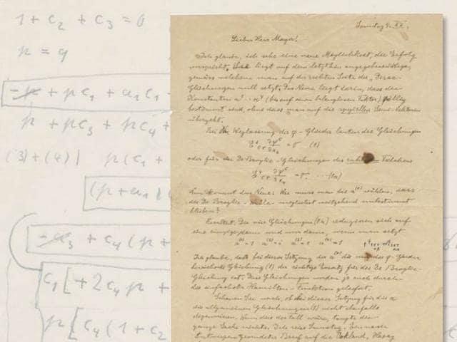Albert Einstein,Theory of Relativity,Letters