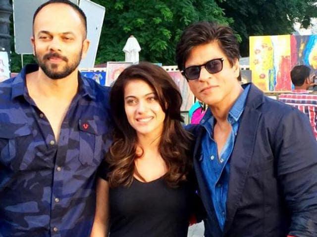 Shah Rukh Khan,Kajol,Rohit Shetty
