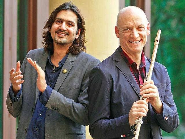 Composer-Ricky-Kej-left-and-South-African-flautist-Wouter-Kellerman-collaborated-for-Winds-of-Samsara-that-won-a-Grammy-for-the-best-New-Age-Album-2015