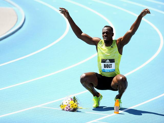 Usain-Bolt-of-Jamaica-reacts-after-winning-the-200m-men-s-final-during-the-Adidas-Grand-Prix-at-Icahn-Stadium-on-Randalls-Island-on-June-13-2015-in-New-York-City-AFP-Photo