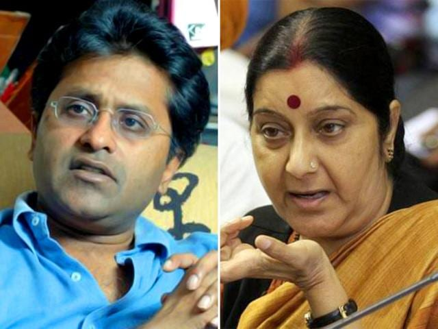 A-combination-photograph-of-former-IPL-chief-Lalit-Modi-and-external-affairs-minister-Sushma-Swaraj