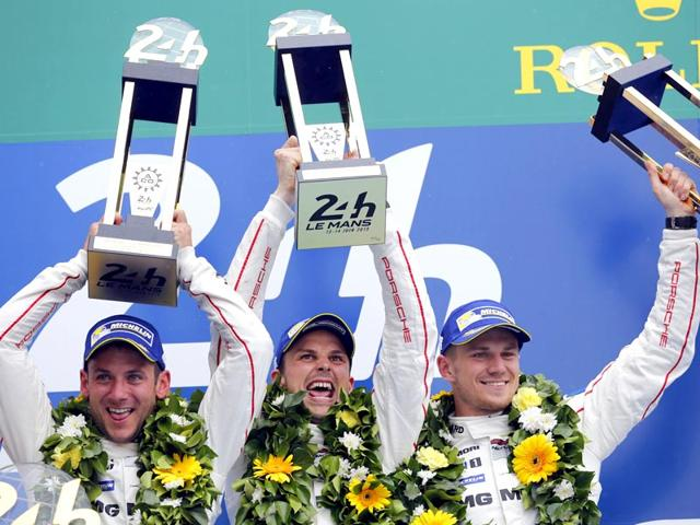 Nico Hulkenberg,Le Mans,Porsche