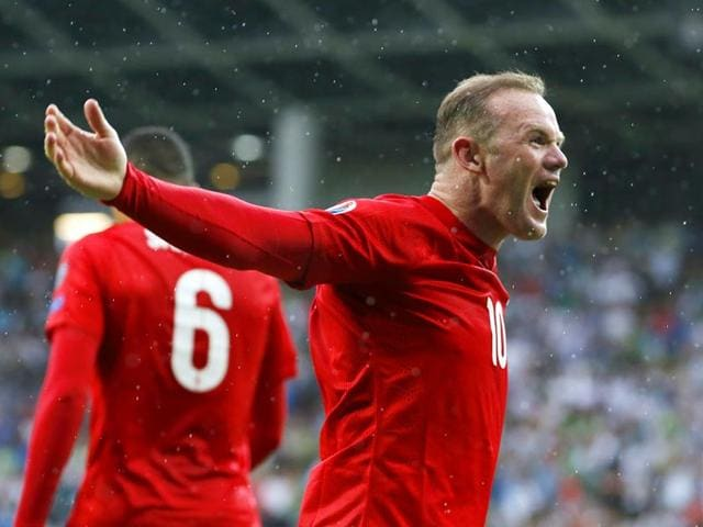 England-s-Wayne-Rooney-celebrates-after-scoring-his-team-s-third-goal-in-the-Uefa-Euro-2016-Group-E-qualifying-match-against-Slovenia-at-the-Stozice-stadium-in-Ljubljana-Slovenia-on-June-14-2015-Reuters-Photo