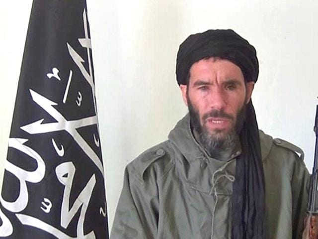 A-file-photo-of-Mokhtar-Belmokhtar-speaking-at-an-undisclosed-location-AFP-Photo