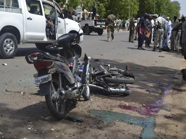 2 suicide bombings kill 13 in northeastern Nigeria