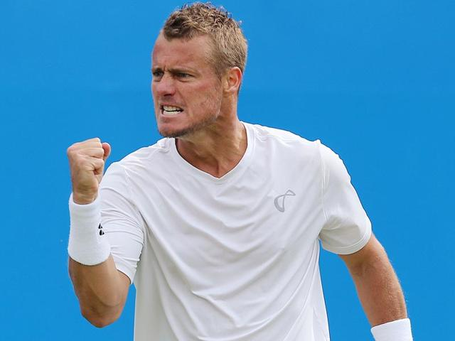 Australia-s-Lleyton-Hewitt-celebrates-winning-the-first-set-during-his-match-against-South-Africa-s-Kevin-Anderson-on-the-first-day-of-the-ATP-Aegon-Championships-at-the-Queen-s-Club-in-London-on-June-15-2015-Anderson-won-6-7-7-5-6-2-Hewitt-is-to-retire-next-year-and-played-his-last-match-at-Queen-s-Club-after-participating-there-for-16-years-Reuters-Photo