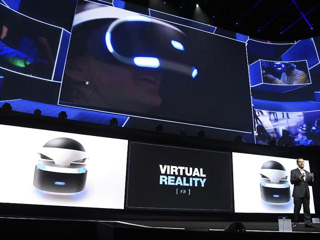 Andrew-House-president-and-global-CEO-of-Sony-Computer-Entertainment-Inc-talks-about-the-Sony-Morpheus-virtual-reality-headset-at-the-Sony-Playstation-at-E3-2015-news-conference-at-the-Los-Angeles-Sports-Arena-in-Los-Angeles-Photo-AP