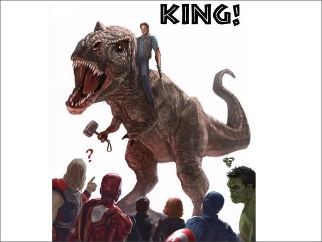 Marvel-Studios-gallantly-concedes-defeat-to-Jurassic-World-Twitter