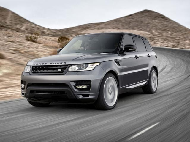 smartphone controlled Range Rover Sport