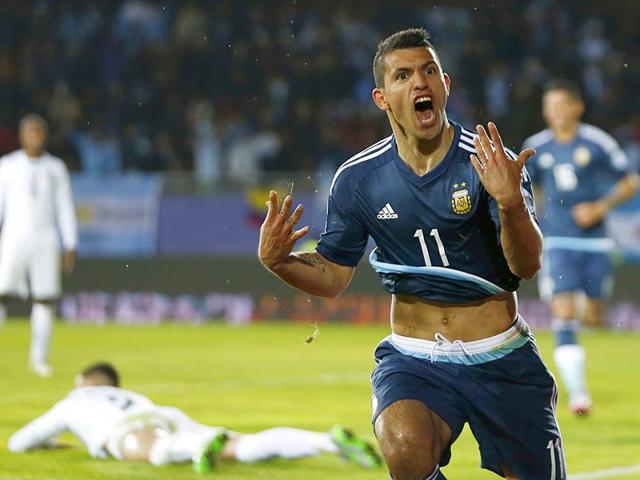 Copa America,Argentina vs Uruguay,Sergio Aguero