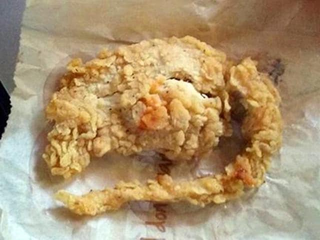 fried rat,KFC,KFC chicken