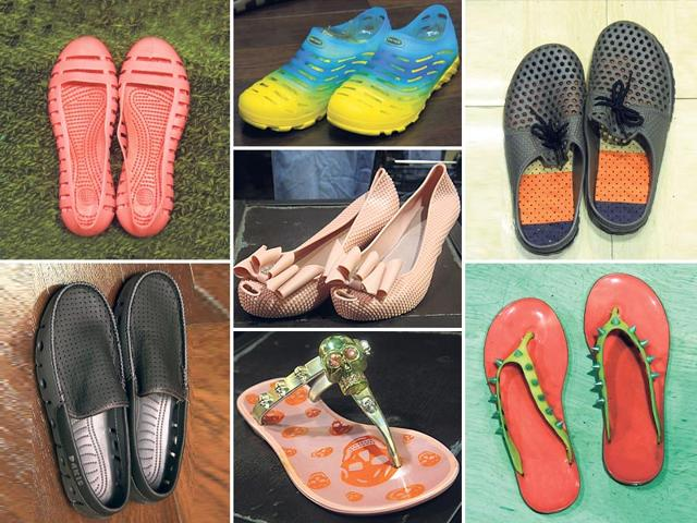 Who-said-monsoon-footwear-has-to-be-p-plain-and-dull-From-trendy-chappals-to-stylish-pumps-city-markets-have-stocked-up-a-variety-of-shoes-that-will-help-you-make-a-statement-this-season
