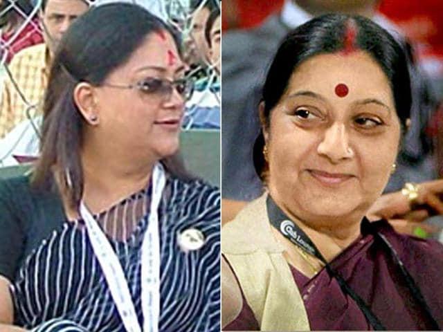 scams,Sushma Swaraj,Vasundhara Raje