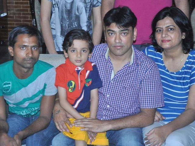 Bhavesh-who-lost-his-mother-in-an-accident-and-father-to-illness-with-uncle-Vijay-and-Ravinder-Thakur-who-runs-an-orphanage-Sant-Arora-HT