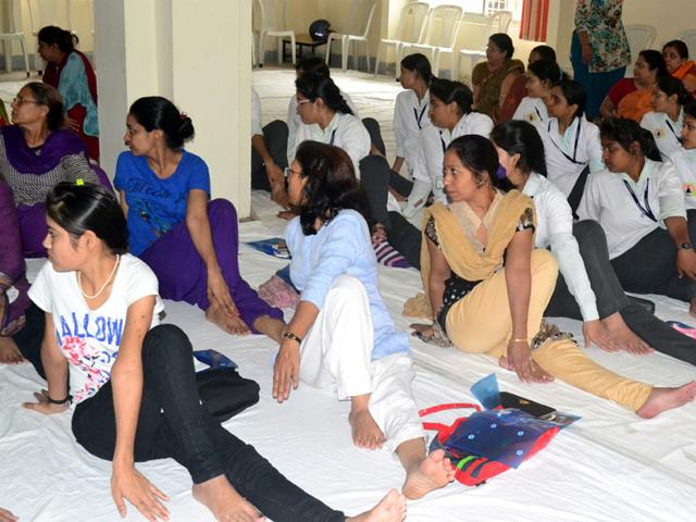 If-the-government-could-set-up-yoga-institutes-around-the-world-without-the-fear-of-stepping-on-secular-toes-there-could-be-a-more-intellectually-focused-locally-meaningful-and-socially-progressive-direction-given-to-this-phenomenon-Bidesh-Manna-HT-photo