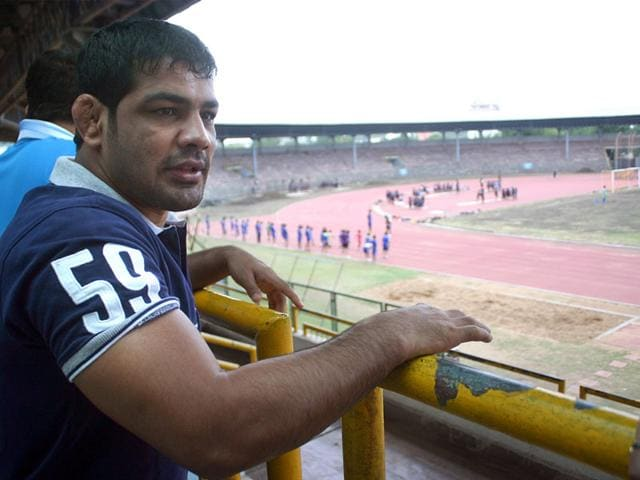 Olympic medalist,Sushil Kumar,wrestling world championships