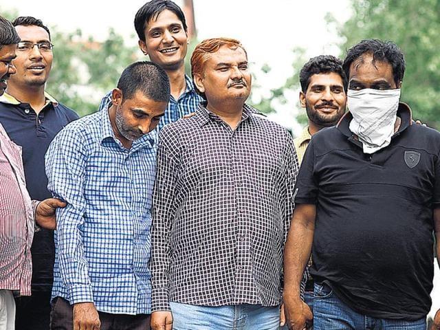 Delhi racket