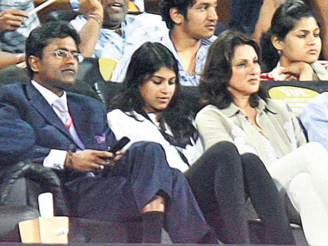 Lalit-Modi-with-his-family-at-an-IPL-game-in-2010-Documents-released-by-him-show-his-wife-was-being-treated-for-metastatic-cancer-at-the-Champalimaud-Foundation-in-Portugal-Santosh-Harhare-HT-File-Photo
