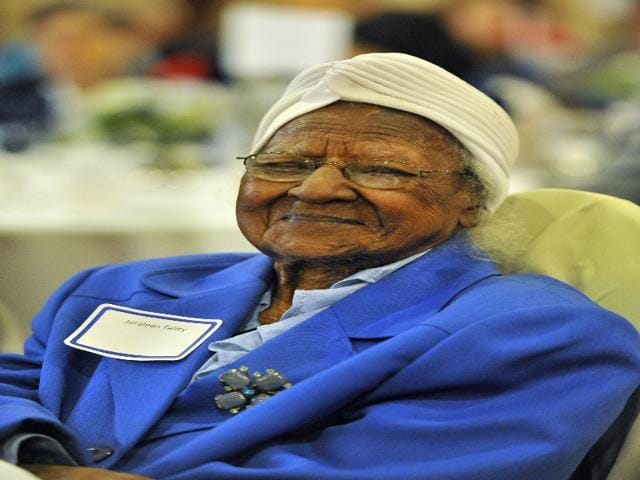 World's Oldest woman,116-year old,Jeralean Talley
