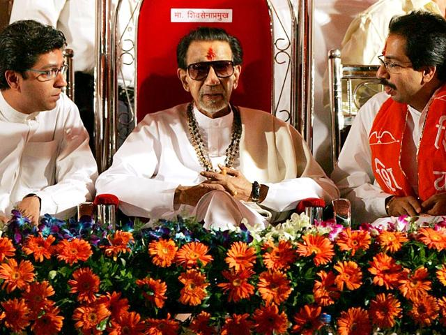 Uddhav-Thackeray-became-the--Shiv-Sena-s--leader-in-2004-while-Bal-remained-the-party-Pramukh-HT-Photo