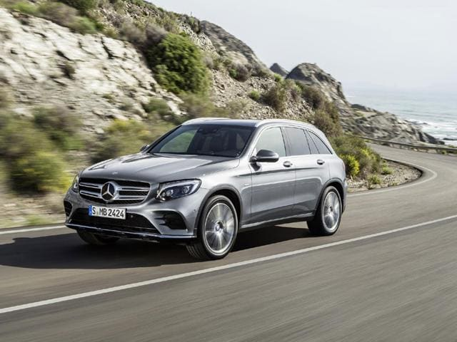 Mercedes Unveils New Glc Crossover Autos Hindustan Times