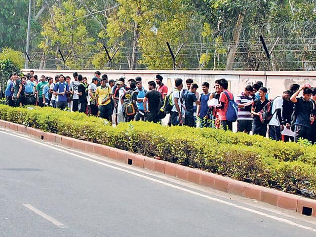Delhi University,Fitness test,Sports quota