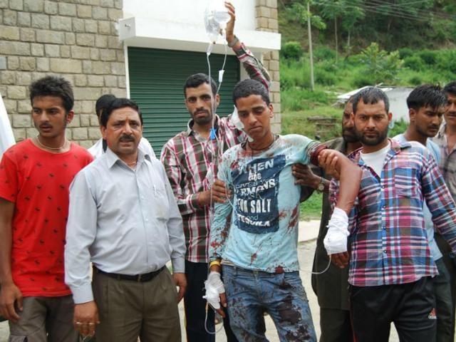 firing,IIT Mandi,three injured
