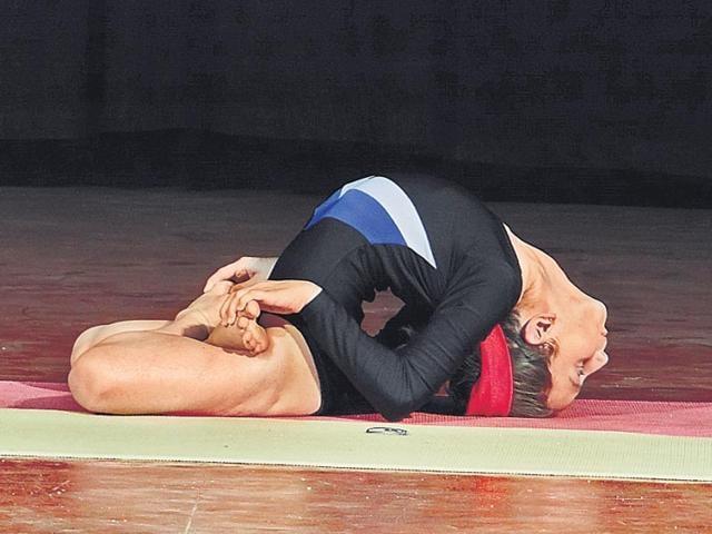 Yoga day,Vikanksha Pandita,KV