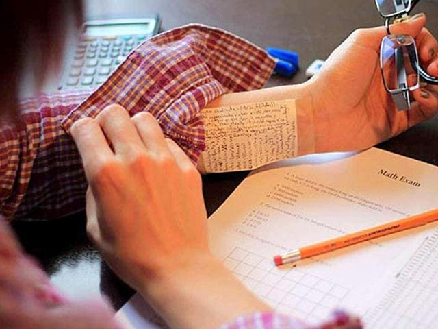 Cheating in exams,cheating,hi-tech gadgets