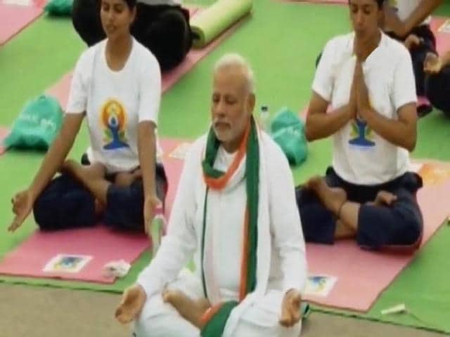 Yoga,World Yoga Day,Sushma Swaraj