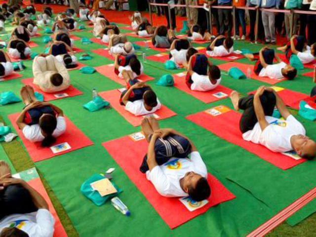 yoga,yoga day celebrations,international yoga day