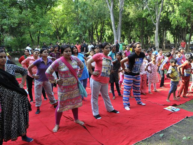 Healthy trend: Yoga courses a hit in Lucknow varsity