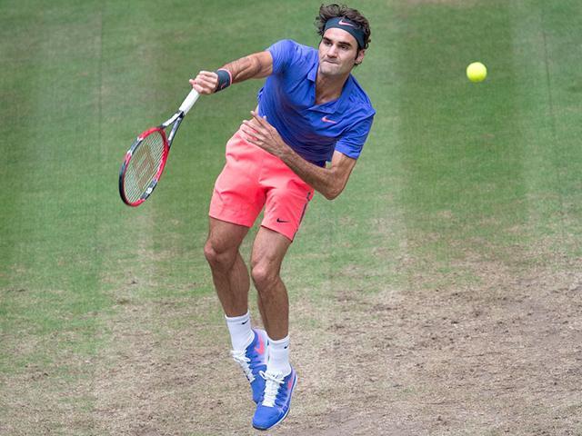 Roger Federer,Andreas Seppi,Gerry Weber Open