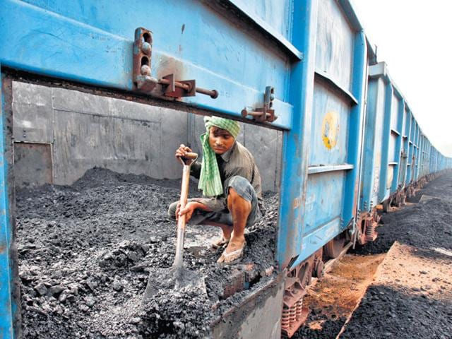 India-s-coal-production-excluding-the-past-year-has-been-530-550MT-annually-with-the-demand-supply-gap-forecasted-to-hit-200-MT-by-2017-An-estimated-300MT-of-coal-production-remains-unlocked-given-limited-railway-links-Reuters