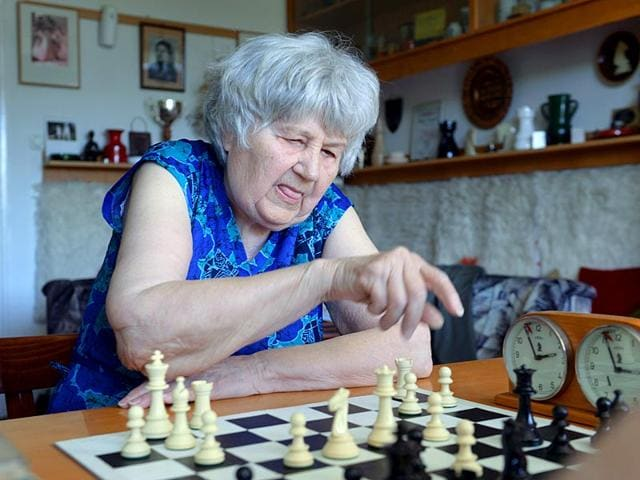 Brigitta-Sinka-during-a-game-at-her-home-in-Budapest-AFP-Photo