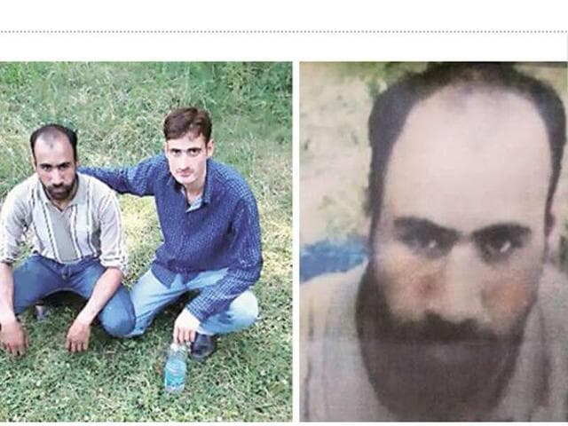 The-posters-pasted-by-the-police-in-Sopore-on-June-16-have-wrongly--used-the--picture-of-Irfan-Ahmad-Shah-26-a-resident-of-Kupwara-as-a-militant-Waseem-Andrabi-HT