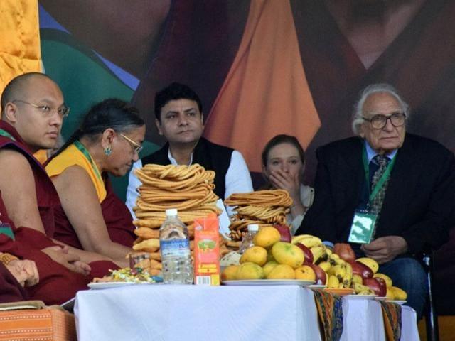 Apo Gaga,the Karmapa,Dharamsala