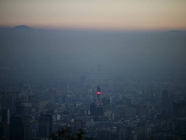 chile,copa america soccer,pollution