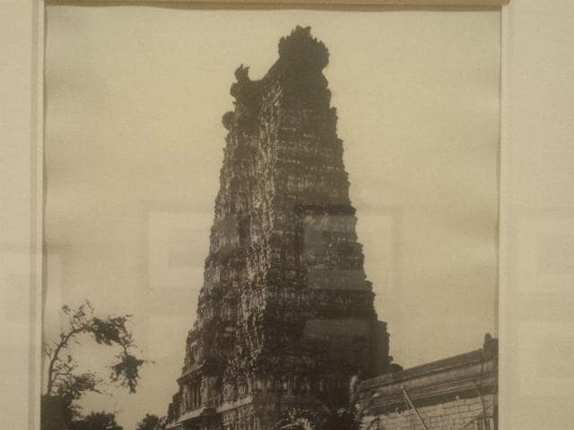 Madura-The-Great-Pagoda-West-Gopuram-a-photograph-by-Linnaeus-Tripe-from-January-February-1858-HT-Photo