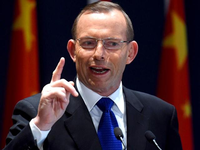 Australian-Prime-Minister-Tony-Abbott-speaks-at-a-conference-AFP-Photo