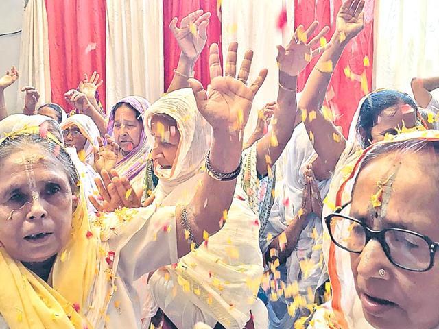 Vrindavan,Widows,Modi