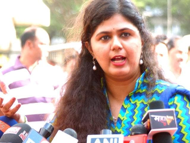 File-photo-of-Maharashtra-minister-Pankaja-Munde-at-Vidhan-Bhavan-in-Mumbai-HT-photo-Kalpak-Pathak